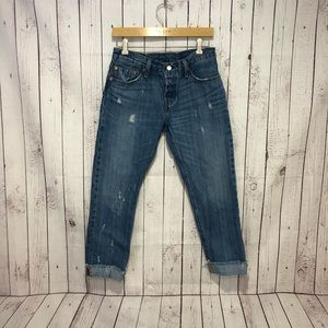 Levis 501 CT W27 L34 Mom Jean! See Detail